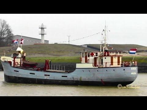 ANDA PE5565 IMO 5016078 Emden Germany built 1936 general cargo vessel Schiff Frachtschiff KüMo