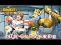 Kingdom Builders | Episode 10: Father-Son Dungeon Day | Cartoon Webisode for Kids