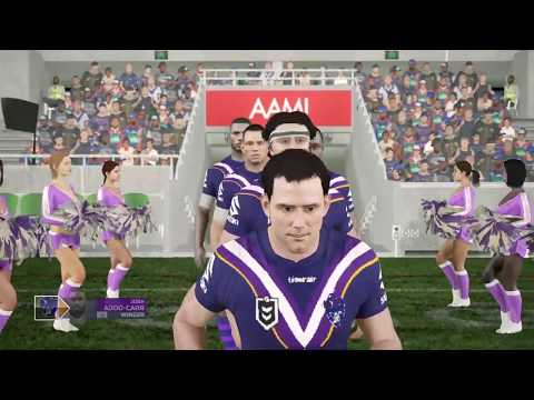MELBOURNE STORM CAREER S2 - ROUND 14 - RUGBY LEAGUE LIVE 4