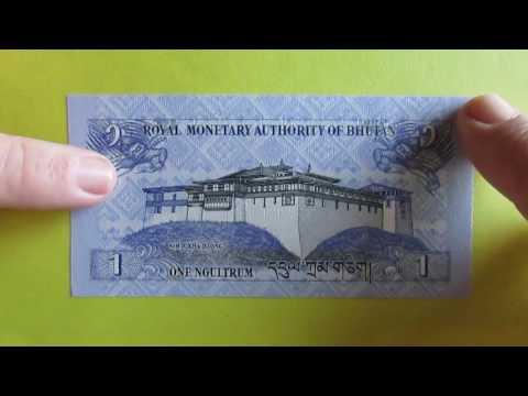 Cédula do Butão - 1 Ngultrum