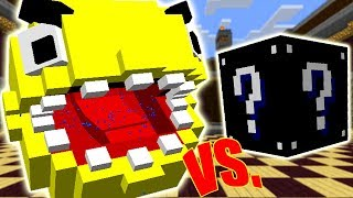 PACMAN VS. LUCKY BLOCK DA ESCURIDÃO (MINECRAFT LUCKY BLOCK CHALLENGE)