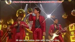Bruno Mars Treasure Subtitulos Español Inglés (Billboard Music Awards 2013)