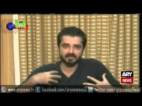 Hamza Ali Abbasi highlights the social Issues of Pakistan  - Ary News Headlines 15 October 2015