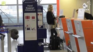 Anja Rubik na lotnisku!