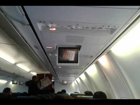 Garuda Indonesia unsafe and illegal take off without passenger safety briefing
