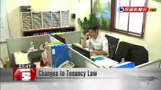 Changes to Tenancy Law