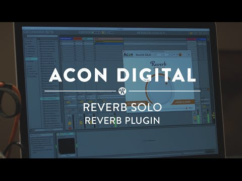 Acon Digital Reverb Solo Plugin   Reverb Software Demo