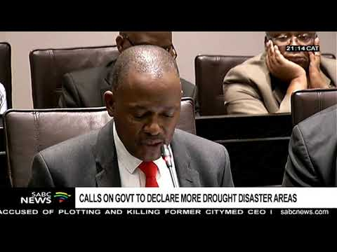 MPs call on government to declare SA's drought a disaster