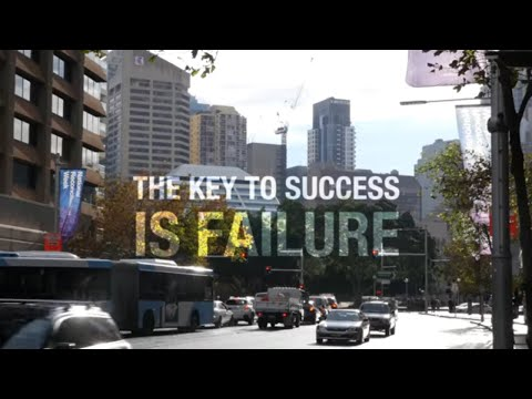 The Key To Success Is Failure