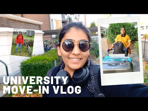 India to Netherlands | Move In Vlog | Indian Studying Abroad