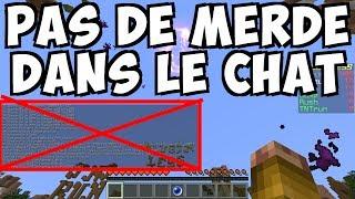 COMMENT NE PAS AVOIR SON CHAT SPAMMÉ - Tuto Minecraft