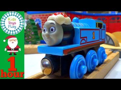 Thomas Train Christmas Compilation Video | Thomas and Friends Christmas Time Video For Kids
