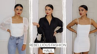 HOW I STYLE REBELLIOUS FASHION WINTER PIECES! // CLOTHING HAUL & DISCOUNT CODE!! | Adina May