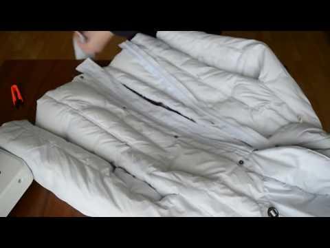 Как расширить куртку на несколько размеров