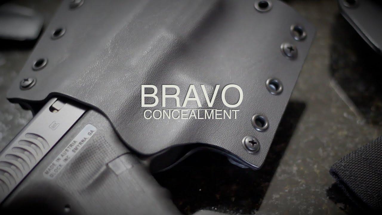 BRAVO CONCEALMENT Custom KYDEX HOLSTERS - YouTube