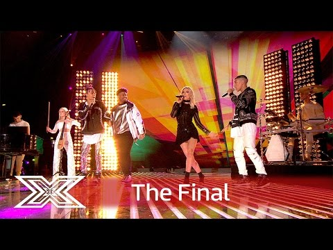 5 After Midnight duet with Louisa Johnson for Tears! | Finals | The X Factor UK 2016