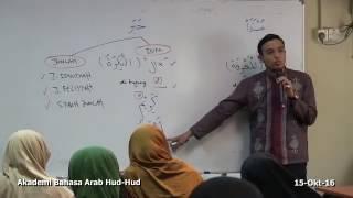 Kelas Bahasa Arab Al-Quran: Ustaz Hanif Shafie (15/10/16)