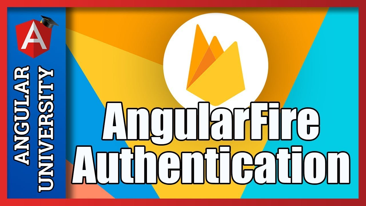 💥 Angular Authentication with AngularFire & Firebase UI