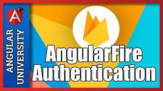💥 Angular Authentication with AngularFire & Firebase UI