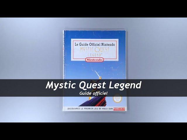 Mystic Quest Legend - Guide officiel