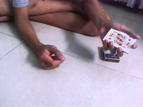 Dạy ảo thuật tự sướng với bộ bài ^^