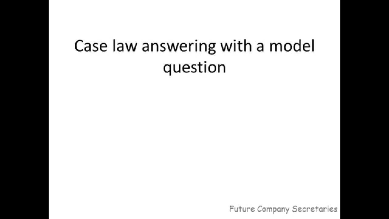 how to write law exam answers To write excellent answers to essay and exam answers, q&a company law 2007-2008 fifty exam type questions and answers which.