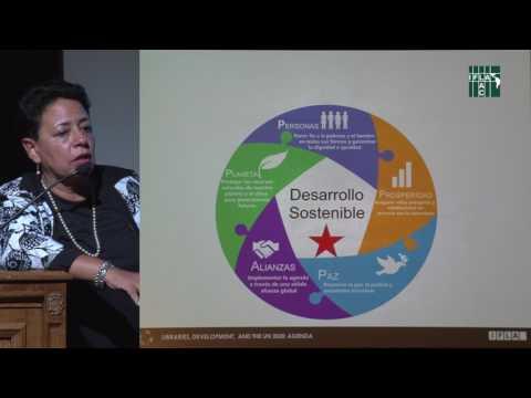 """Taller """"Las Bibliotecas y la Agenda 2030"""", Ana María Talavera"""