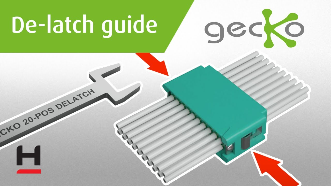 Youtube video for Gecko (G125) De-latching Instructions
