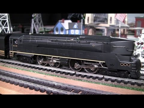 MTH Premier PRR T1 Duplex (4-4-4-4) O-Gauge Steam Locomotive in True HD 1080p