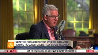 NJ Mom Reads Constitution, Is Disarmed - TheBlazeTV - Glenn Beck Radio Show - 2013.03.13