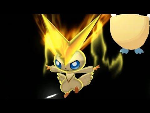 Pokemon Ultra Sun and Ultra Moon Wi-Fi Battle: Victini Brings Peace! (1080p)