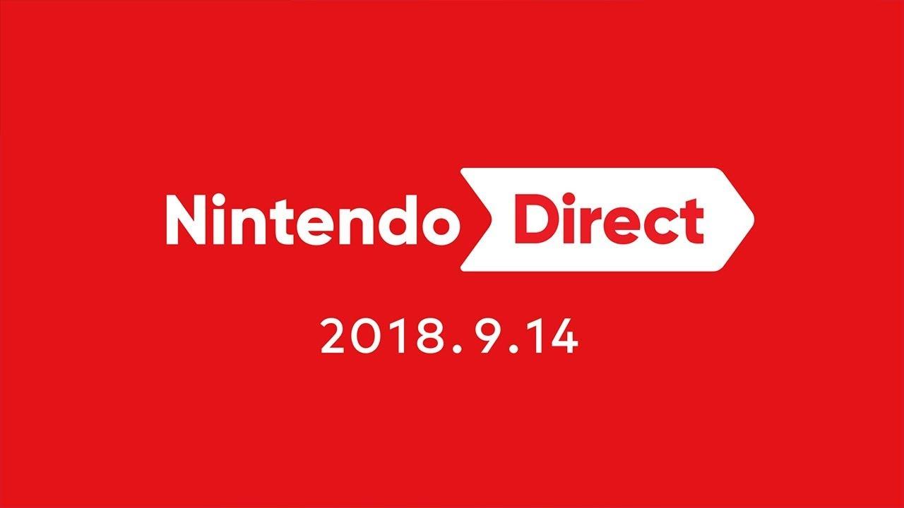 nintendo direct 2018 9 14 youtube