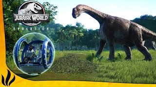 Jurassic World Evolution FR: Let's Play par Dr_Horse. Episode 7: Pa...