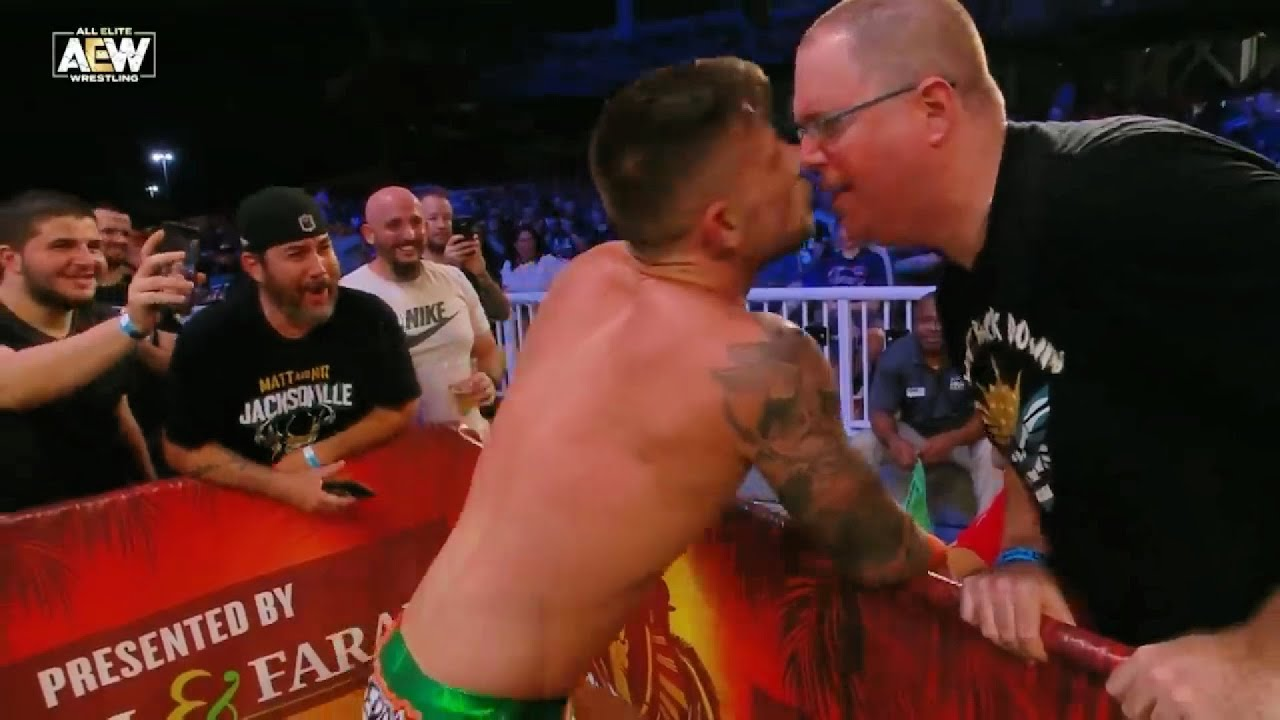Wrestlers Who Inappropriately Touched Fans