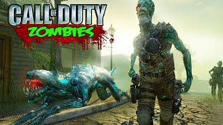Call of Duty Zombies - Kino Der Toten FUTURE Remake Gameplay (World at War Custom Zombies)