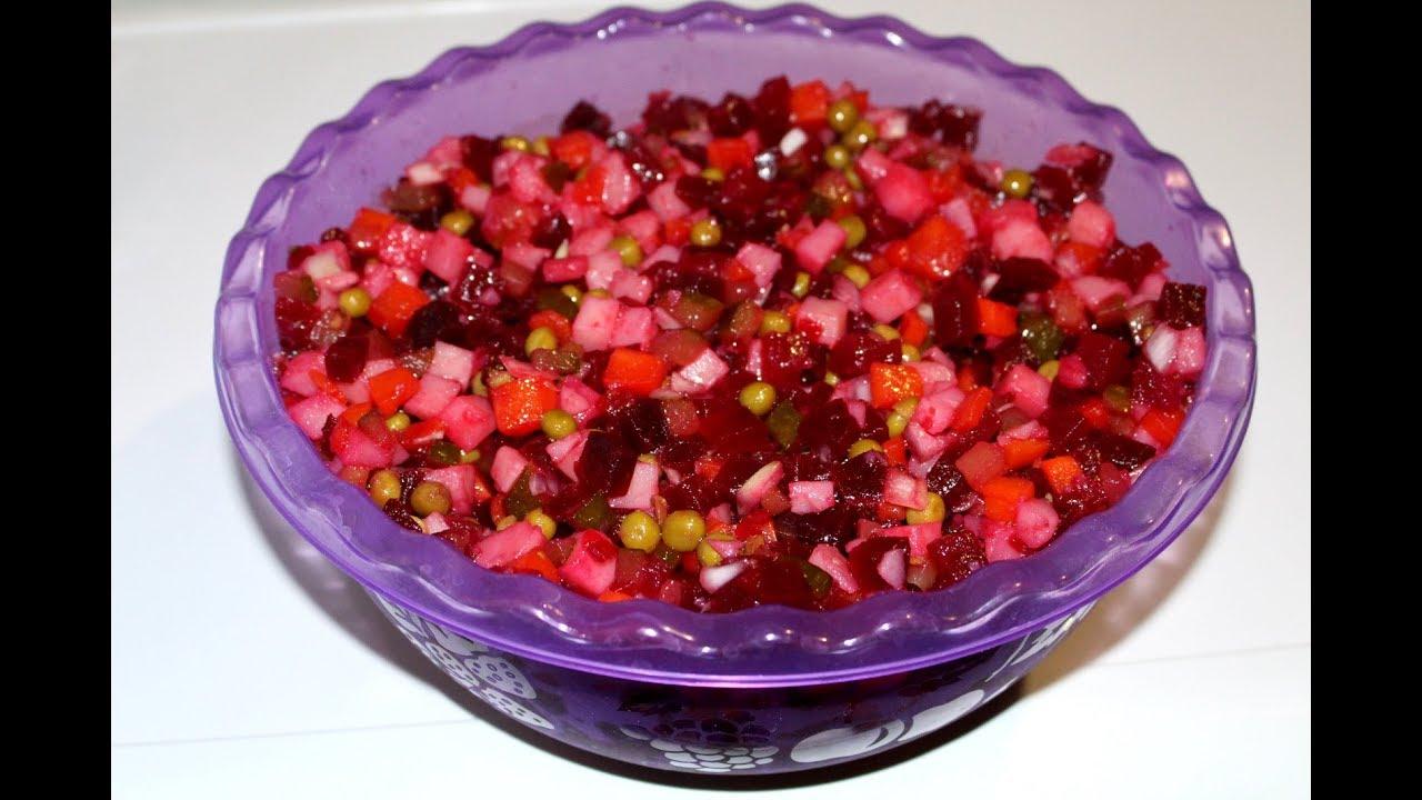 Как сделать салат винегрет 731