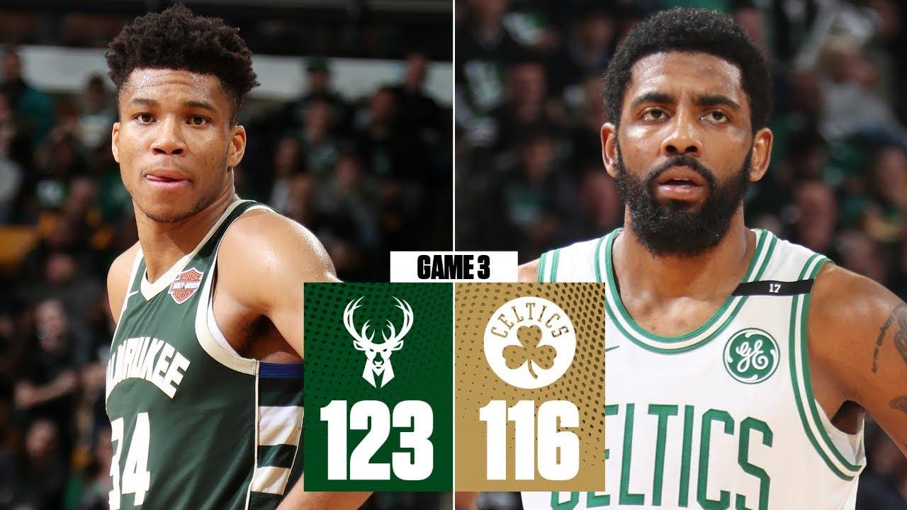 Giannis scores 39, Bucks take commanding 3-1 series lead vs. Celtics | 2019 NBA Playoff Highlights