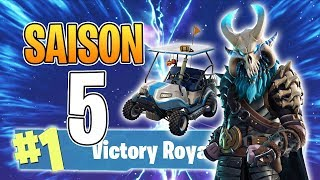 FORTNITE SAISON 5! NEW SKINS, COMBAT PASS! NEW MAP! (Fortnite: Battle Royale)