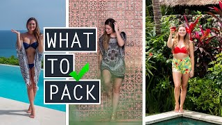 WHAT I PACKED ... AND WHAT I WISH I HADN'T // Unpack With Me // TRAVEL TIPS