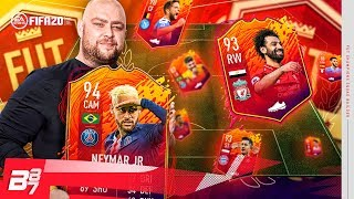 USING A FULL HEADLINERS TEAM IN FUT CHAMPIONS! | FIFA 20 ULTIMATE TEAM