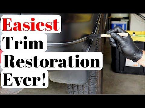 BEST Black Trim Restorer in the Auto Detailing Industry | Unbelievable.