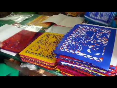 Mexican Papel Picado - Colorful Tissue Garland