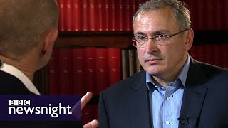 Mikhail Khodorkovsky on Putin, Russian elections, prison and corruption - BBC Newsnight