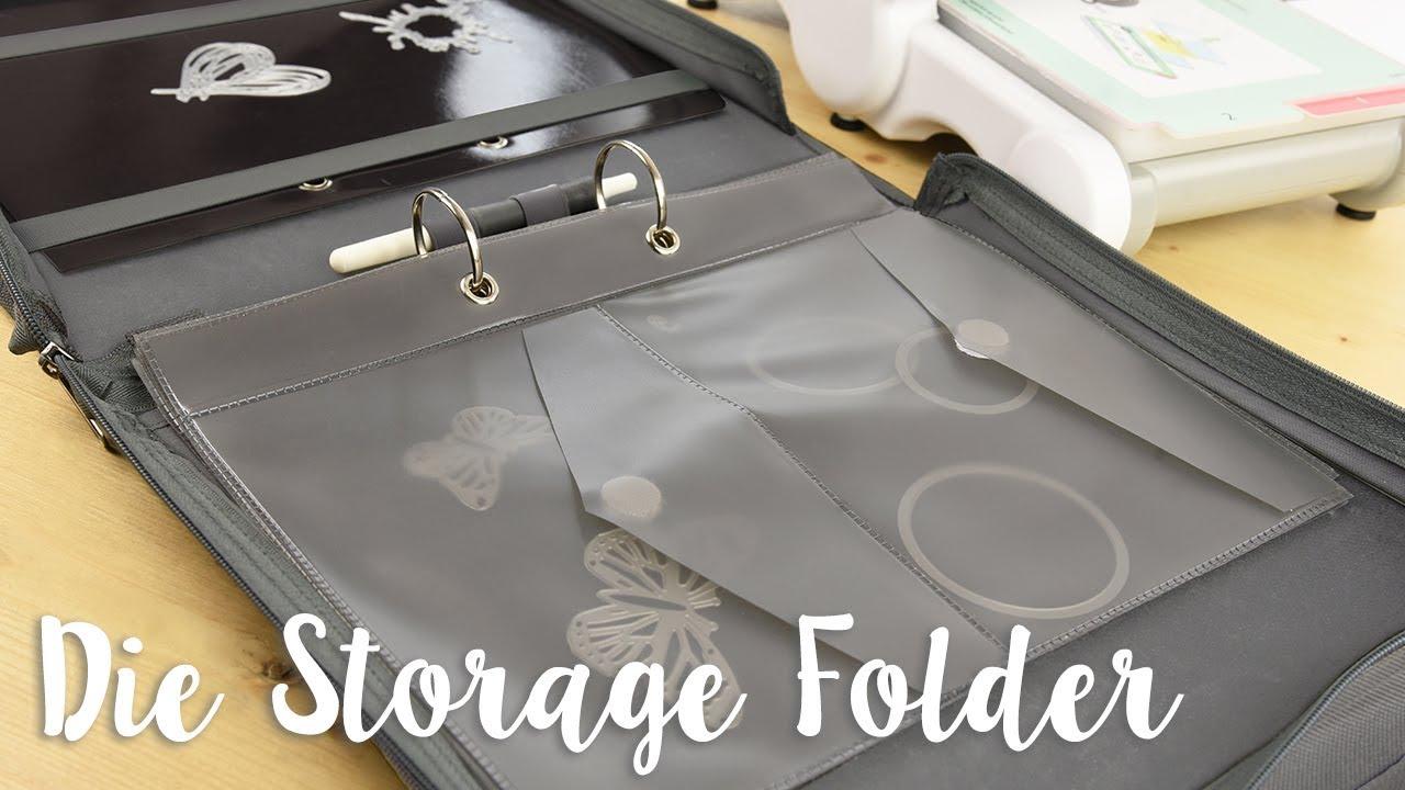 Introducing the NEW Sizzix Die Storage Folder