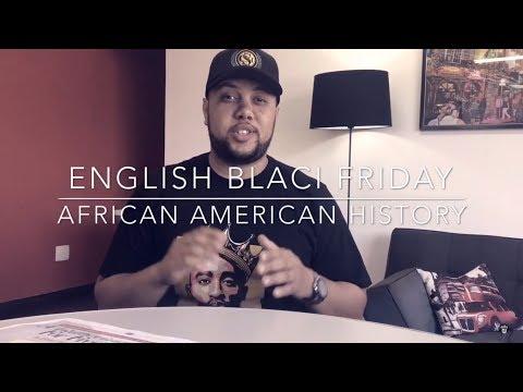 African American History | English Black Friday