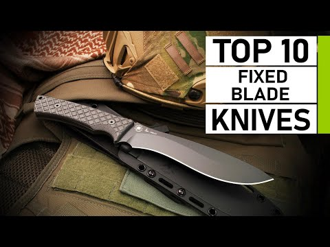 Top 10 Ultimate Fixed Blade Knives For Tactical Survival
