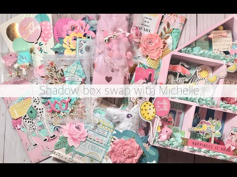 UNBOXING A SHADOW BOX SWAP FROM MICHELLE