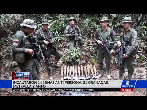 Eln atacó a una patrulla de erradicadoresmanuales en Cáceres, Antioquia
