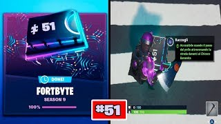 ACCESSIBILE USING THE STEP OF THE WORLD BANANITA FORTBYTE 51 FORTNITE