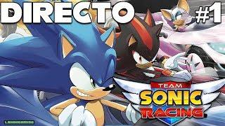 Vídeo Team Sonic Racing
